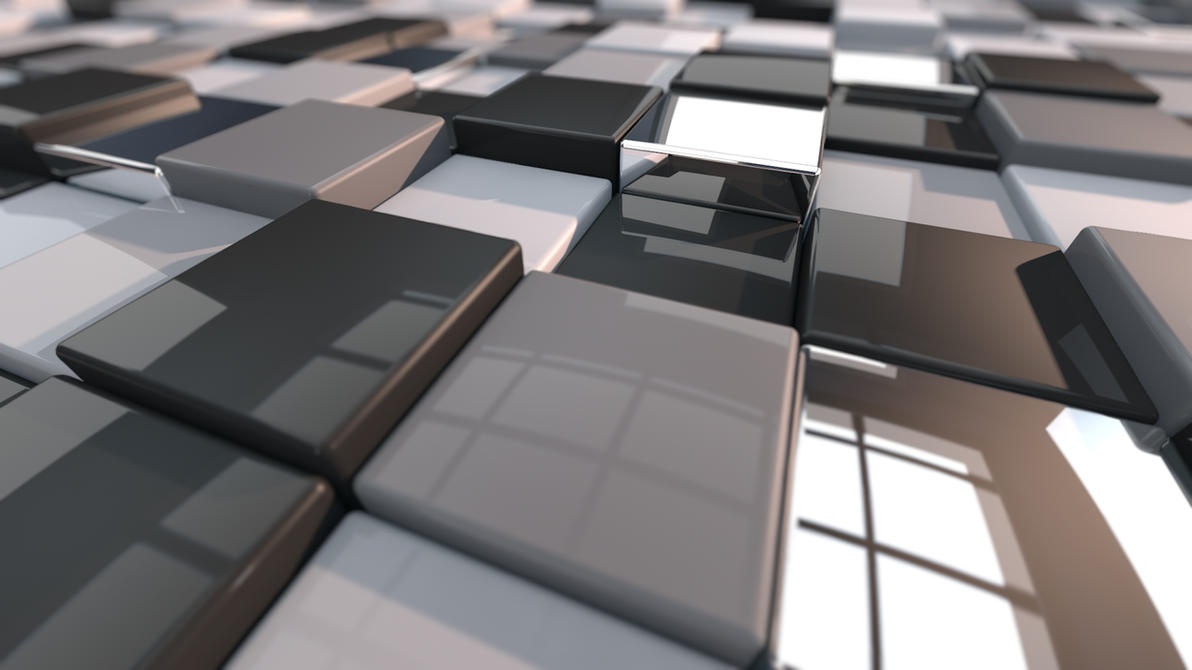 CubeD Floor Greyscale by MangoTangoFox