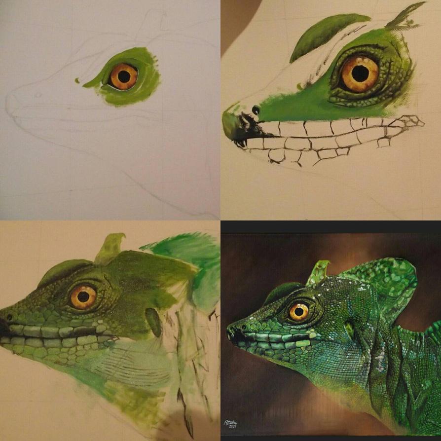 Basilisk Lizard by rvc89