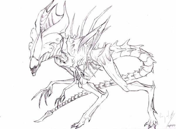 Alien Queen by Mesenquima on DeviantArt
