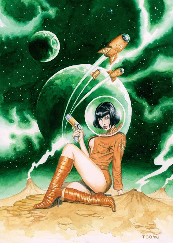 Spacegirl by ticulin