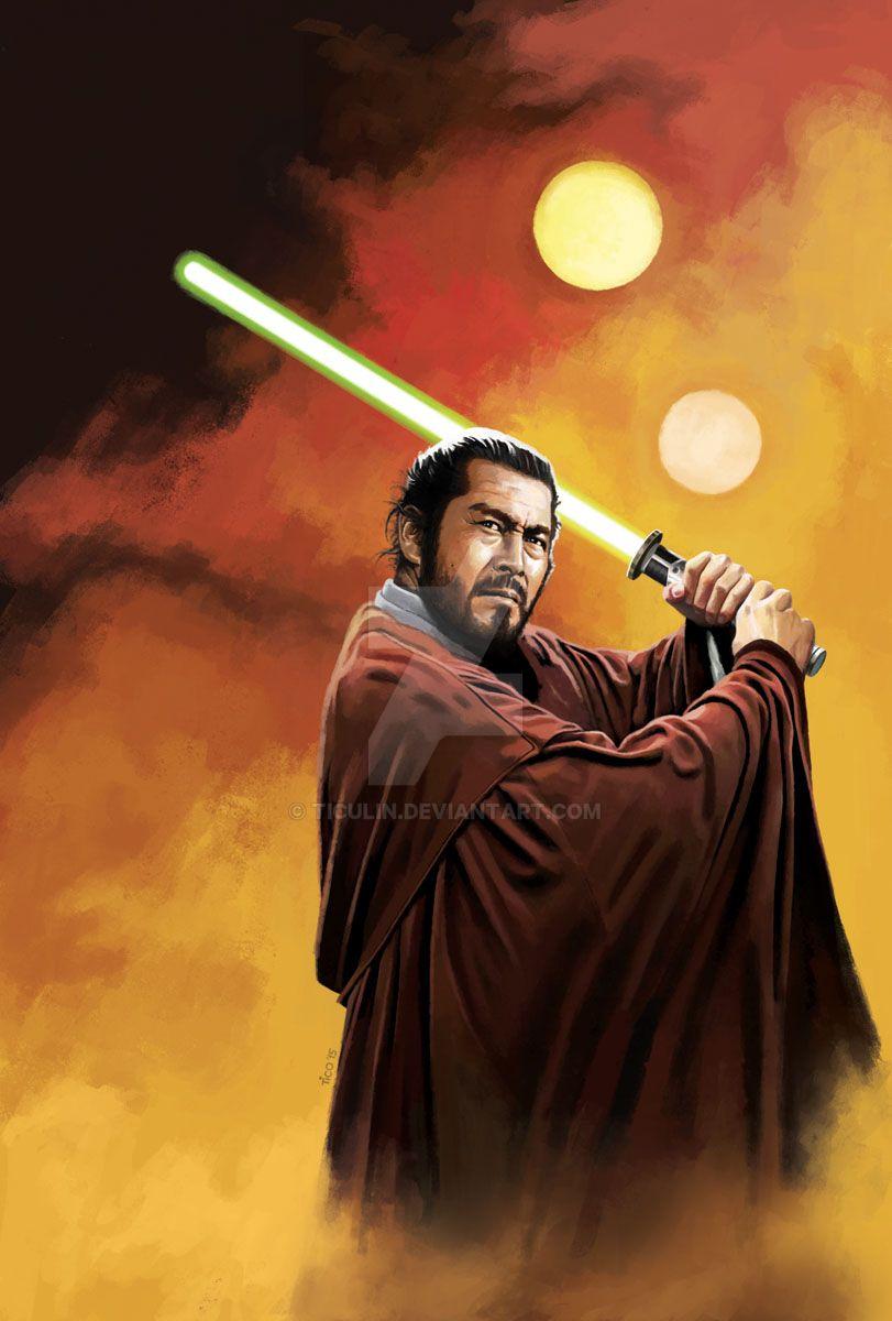 Toshi Ronin - Jedi master by ticulin on DeviantArt