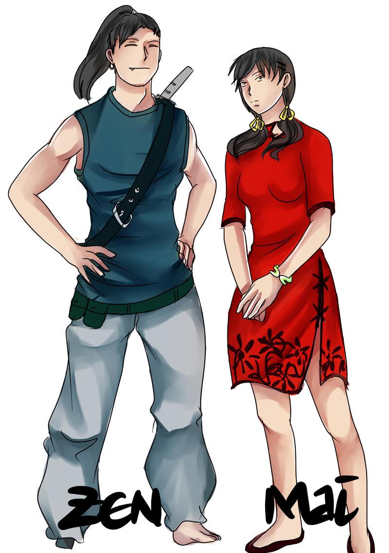 SOO OC - Zen and Mai