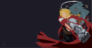 Edward and Alphonse - Full Metal Alchemist