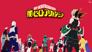 My Hero Academia - Wallpaper by diizay