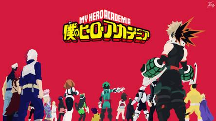 My Hero Academia - Wallpaper by diizay