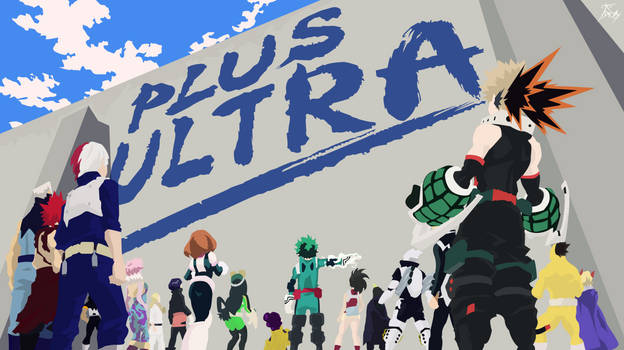 My Hero Academia - Plus Ultra - Wallpaper