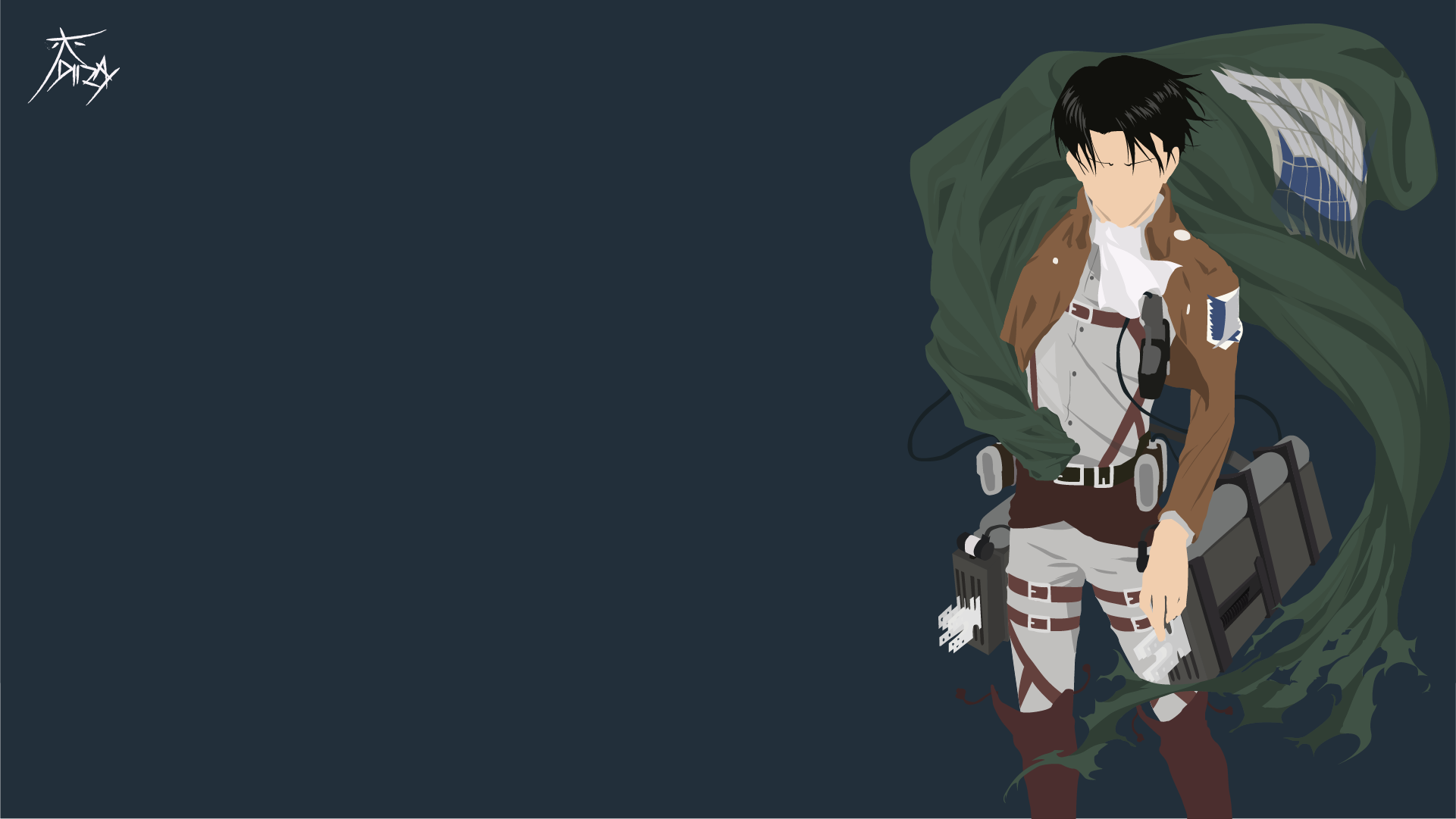 Levi Ackerman Attack On Titan Wallpaper By Diizay On Deviantart