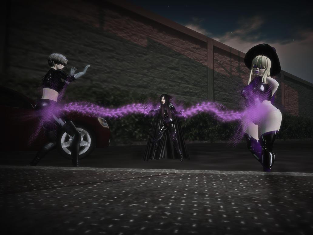 Nemesis Girl Strikes by MollyFootman