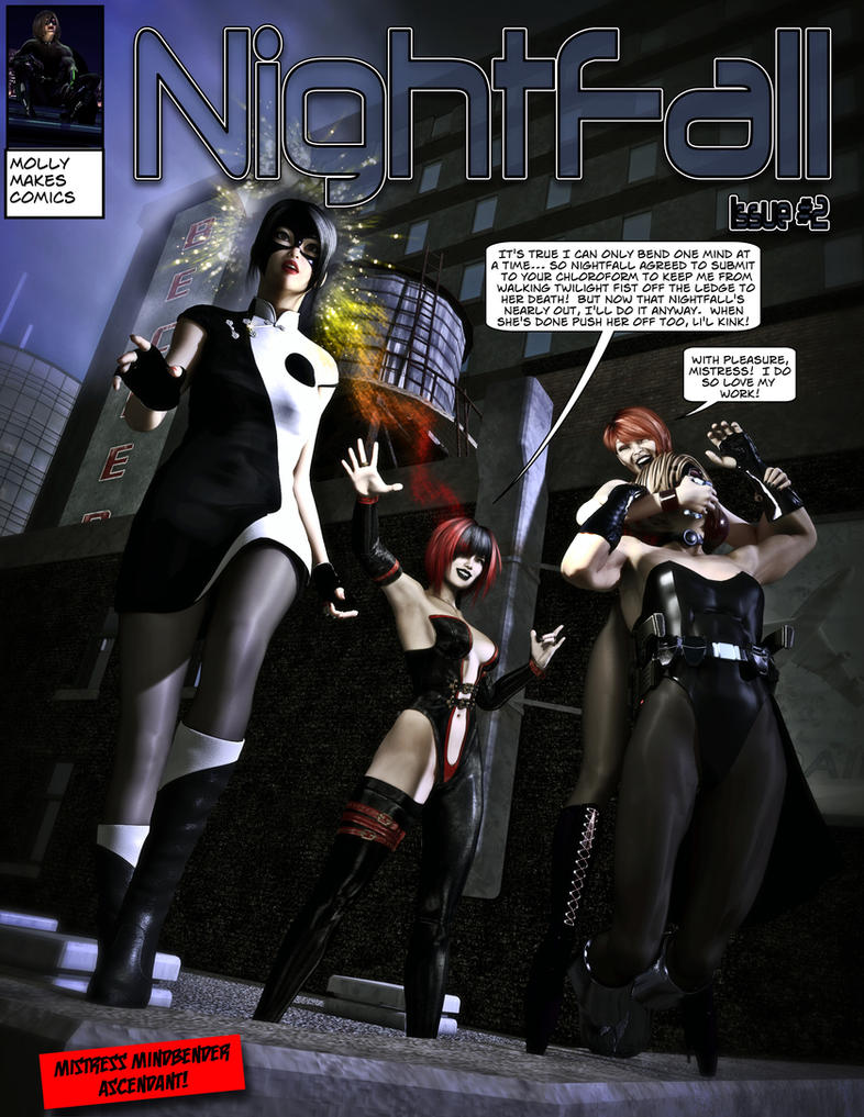 Mistress Mindbender Ascendant - Cover by MollyFootman