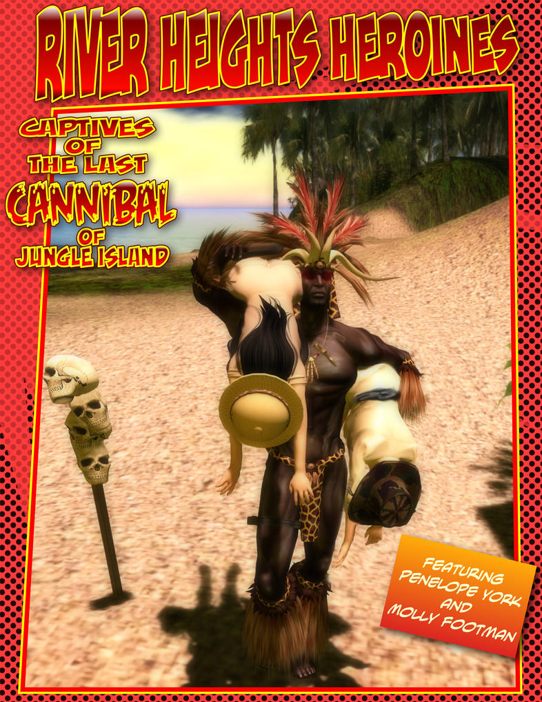 RHH - Captives of the Last Cannibal - Cover by MollyFootman