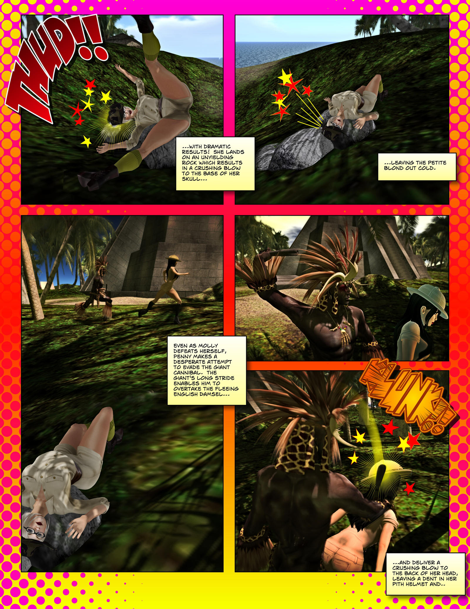Captives of the Last Cannibal - Page 6 by MollyFootman on ...