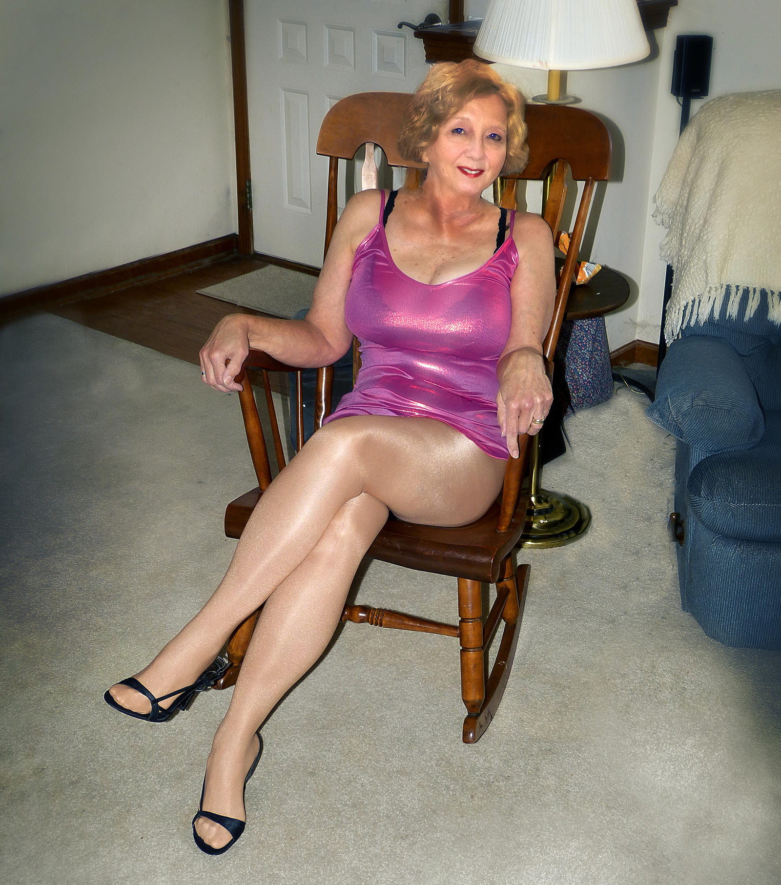 Granny in tights