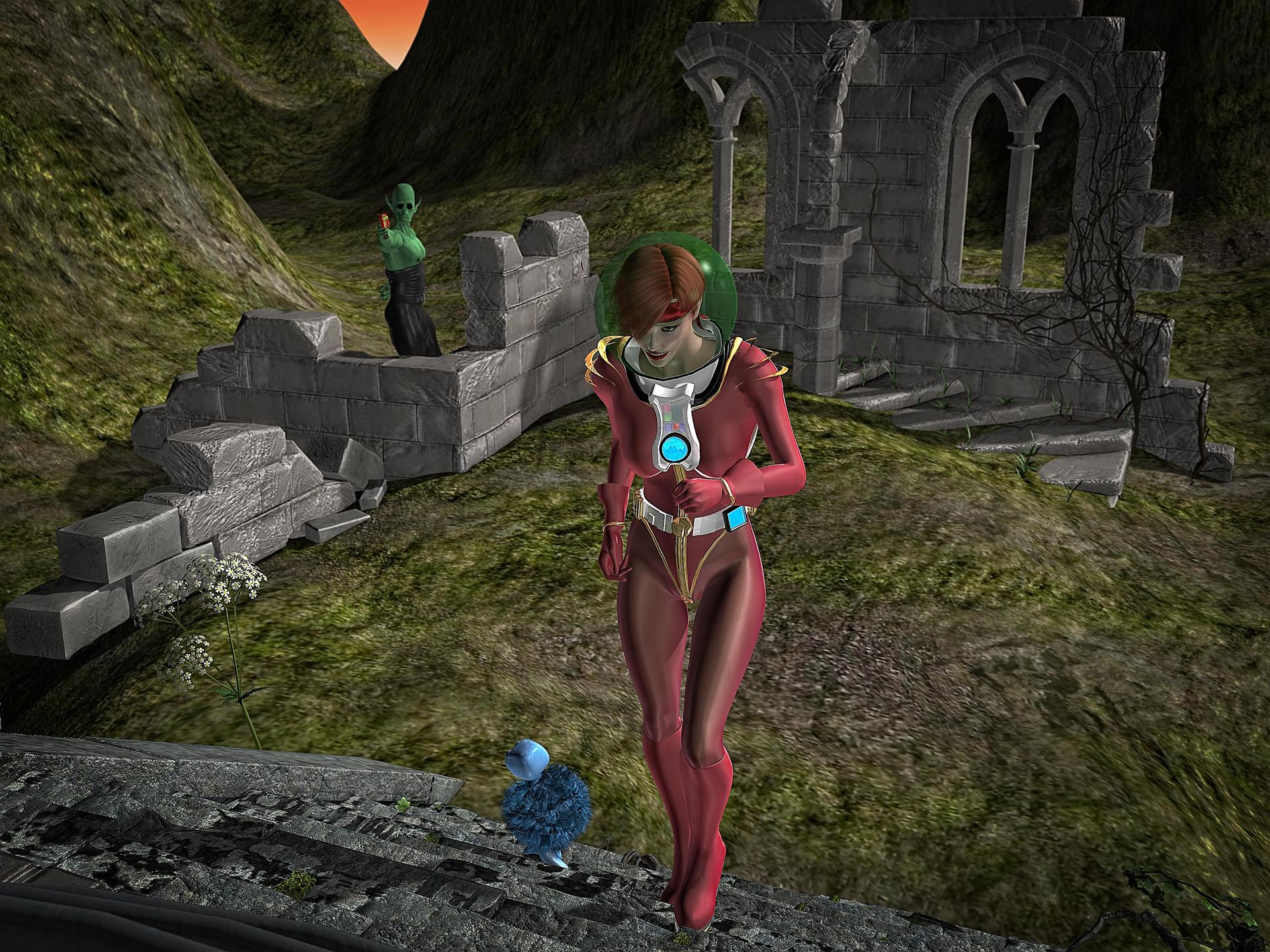 SpaceGirl Stalker - 2