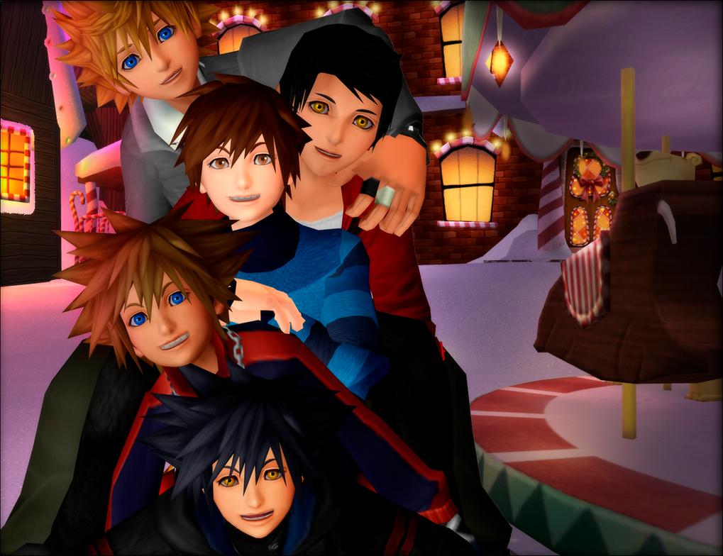 Kingdom Hearts-MMD by danit09182 on DeviantArt