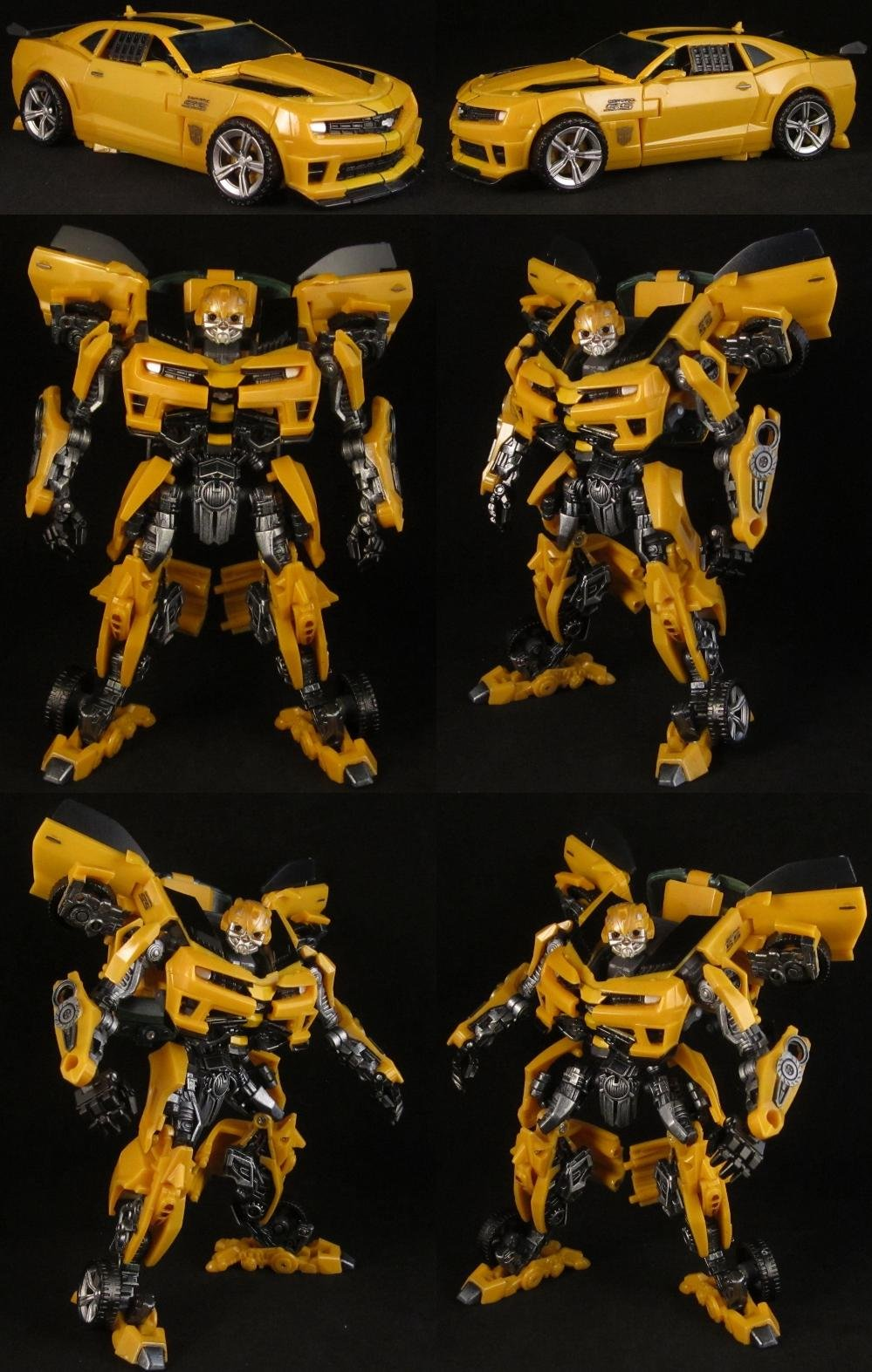 ultimate bumblebee transformer instructions pdf