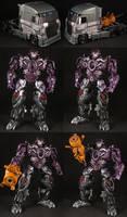 Custom AOE G1 Galvatron by Solrac333