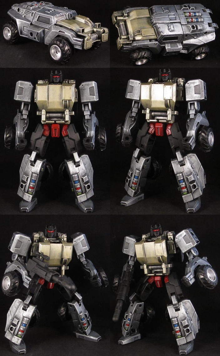 Custom Generations Grimlock by Solrac333