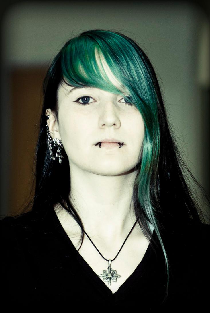 Gothic Portrait by Psunna
