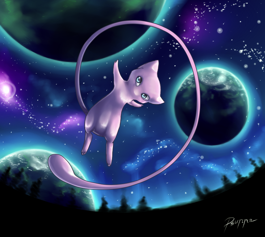 Mew by FinsterlichArt on DeviantArt
