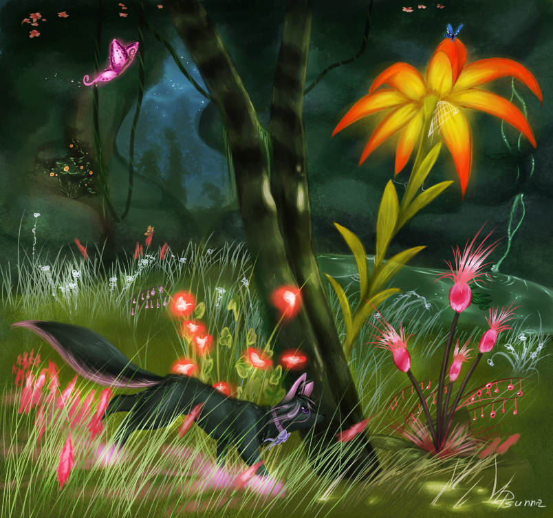Litcha forest by Psunna
