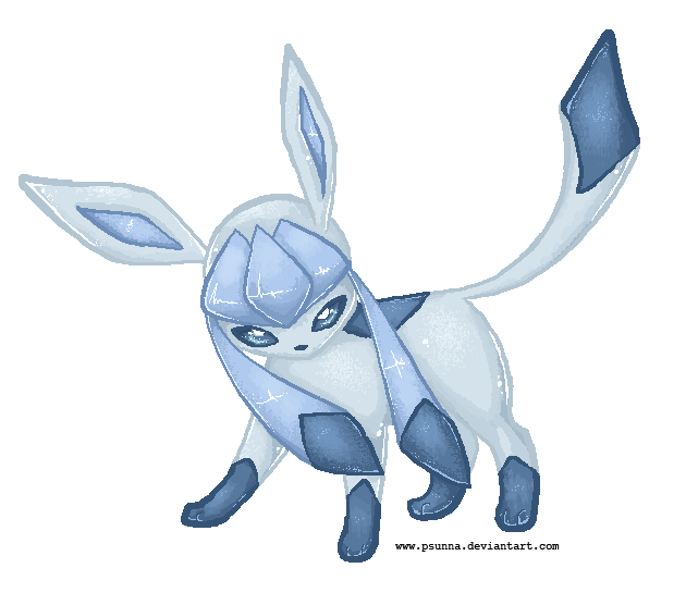 Pixel Glaceon VIDEO by FinsterlichArt