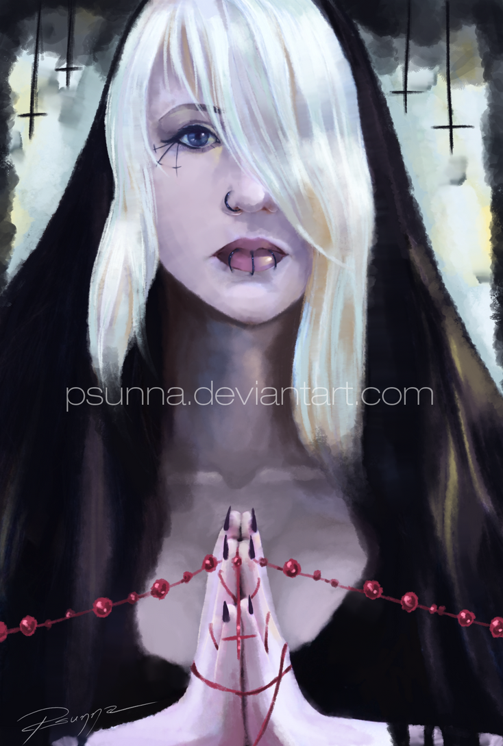 Self Portrait - begging for mercy by Psunna
