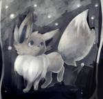 Shiny Eevee Painting