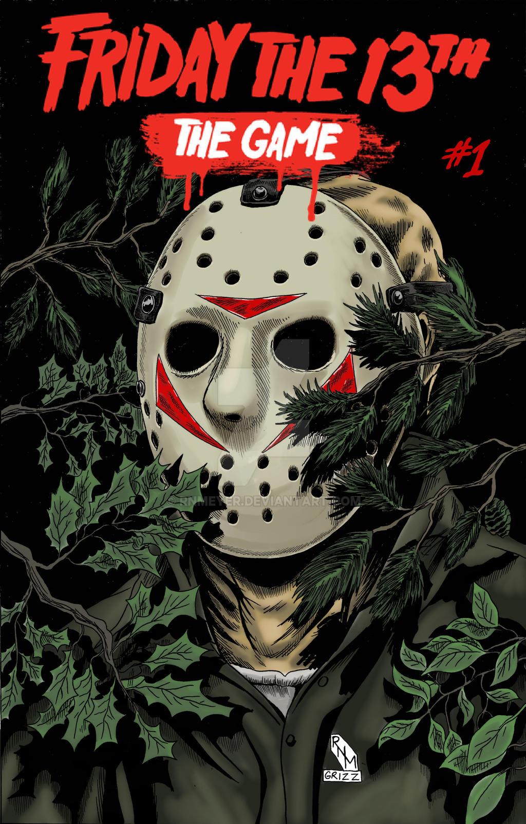 Friday the 13th The Game Fan Comic F13game_cover_by_rnmeyer_ddfquh2-fullview.jpg?token=eyJ0eXAiOiJKV1QiLCJhbGciOiJIUzI1NiJ9.eyJzdWIiOiJ1cm46YXBwOjdlMGQxODg5ODIyNjQzNzNhNWYwZDQxNWVhMGQyNmUwIiwiaXNzIjoidXJuOmFwcDo3ZTBkMTg4OTgyMjY0MzczYTVmMGQ0MTVlYTBkMjZlMCIsIm9iaiI6W1t7InBhdGgiOiJcL2ZcLzdlMzU2MDUxLTRhMTAtNDVmNy1iNjYxLWFiOTJjYmEwYzFmMFwvZGRmcXVoMi0wYTY1MjhkOS1kMjMxLTQ3YzEtYjM4NS1lODIyMDRiYzM5ZjUuanBnIiwiaGVpZ2h0IjoiPD0xNjA0Iiwid2lkdGgiOiI8PTEwMjQifV1dLCJhdWQiOlsidXJuOnNlcnZpY2U6aW1hZ2Uud2F0ZXJtYXJrIl0sIndtayI6eyJwYXRoIjoiXC93bVwvN2UzNTYwNTEtNGExMC00NWY3LWI2NjEtYWI5MmNiYTBjMWYwXC9ybm1leWVyLTQucG5nIiwib3BhY2l0eSI6OTUsInByb3BvcnRpb25zIjowLjQ1LCJncmF2aXR5IjoiY2VudGVyIn19