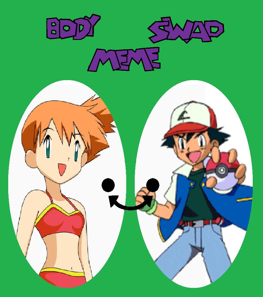 Ash Misty Switch bodies by TheWalrusclown