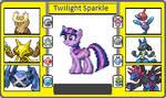 If They had pokemon Twilight Sparkle