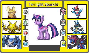 If They had pokemon Twilight Sparkle by TheWalrusclown