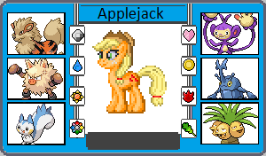 If They Had Pokemon Applejack by TheWalrusclown