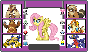 If They had Pokemon Fluttershy