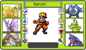 If They Had Pokemon Naruto by TheWalrusclown