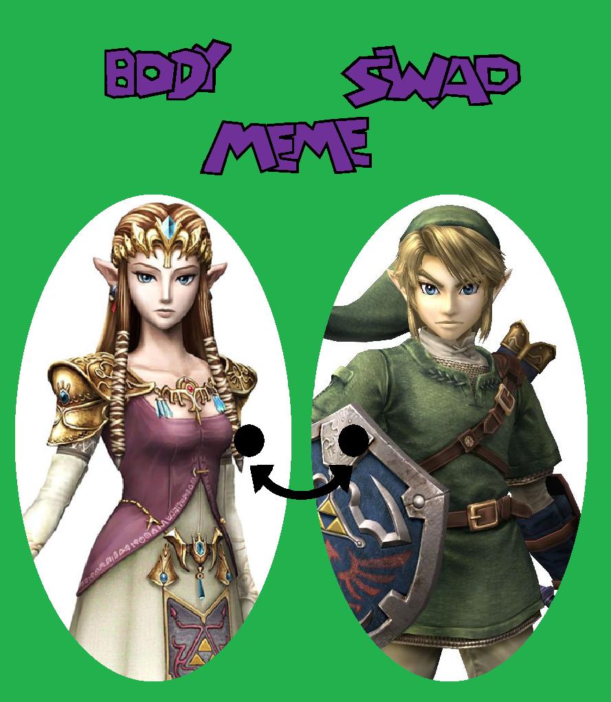 Link Zelda Swap by TheWalrusclown