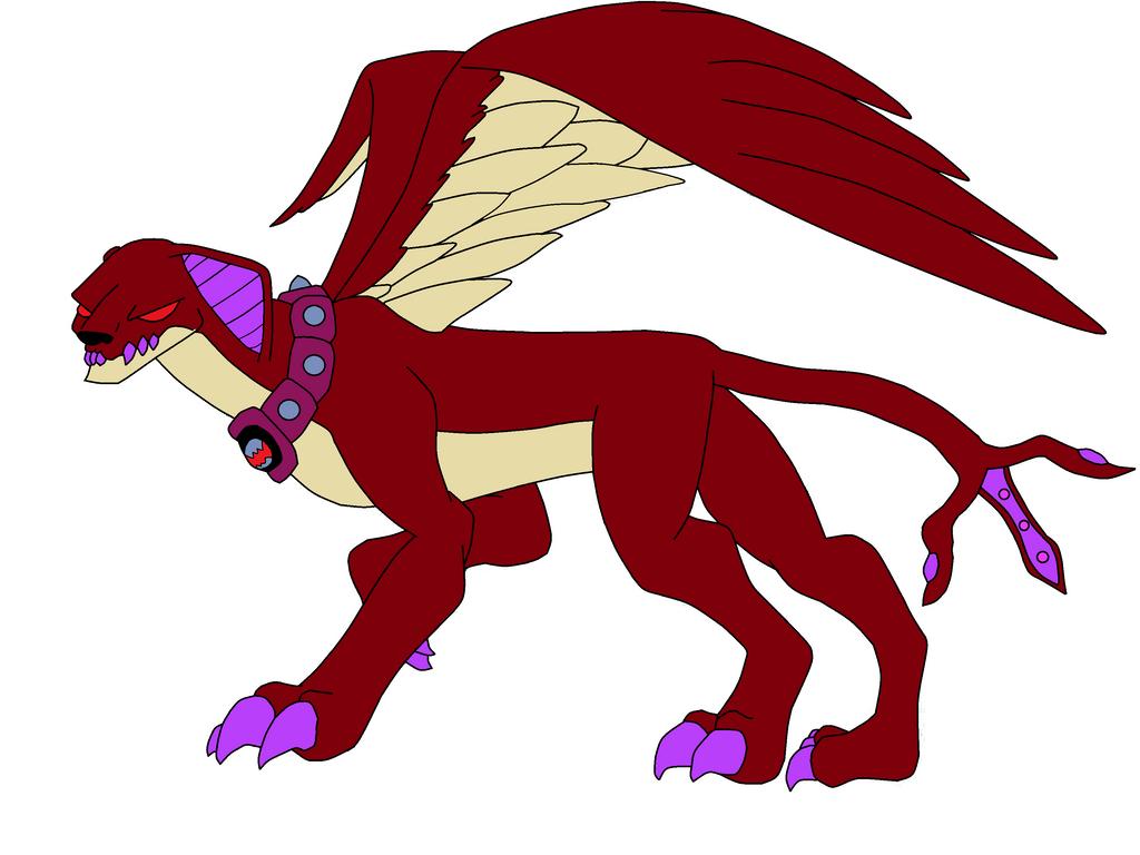Nemitrix Alien Crimsphinx by TheWalrusclown