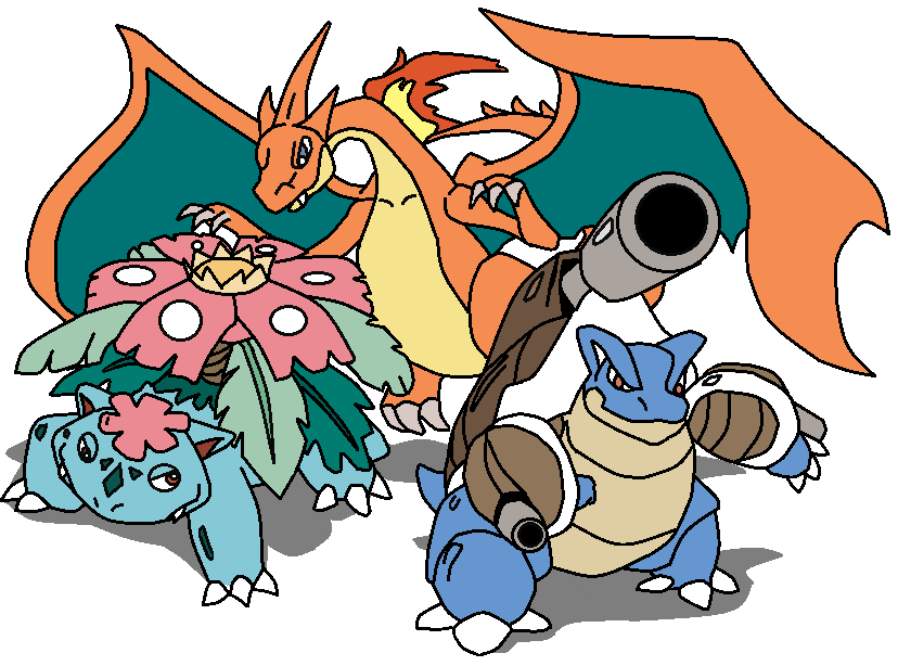 pokemon kanto starters mega - photo #34