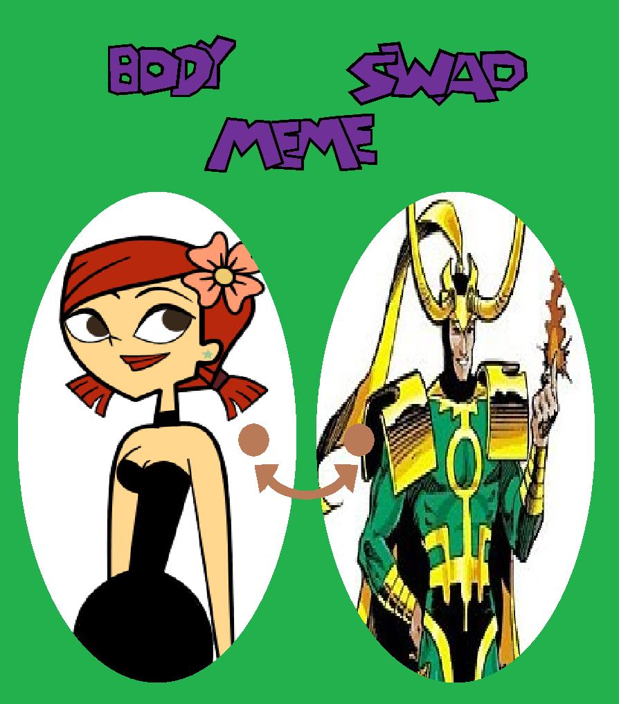 Loki/Zoey swap by TheWalrusclown