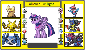 If They Had Pokemon + Gen.6 Princess Twilight by TheWalrusclown
