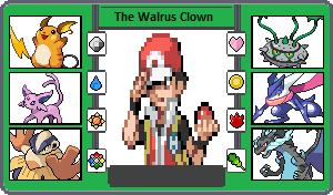 If They Had Pokemon +Gen 6  Me, Thewalrusclown by TheWalrusclown