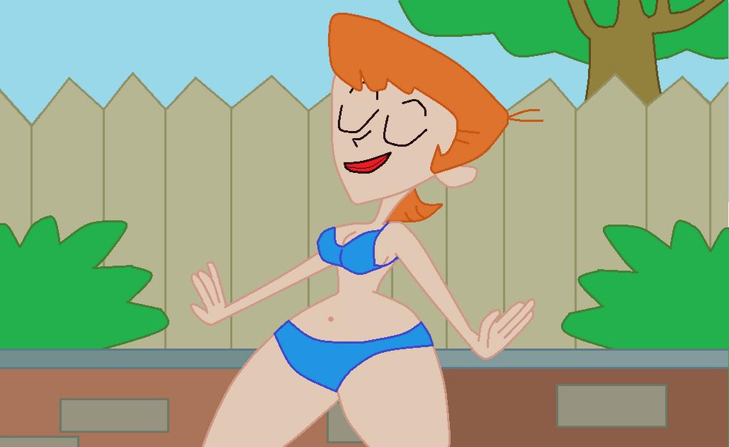Dexter's un-named  Hartman Hiped Mom by TheWalrusclown
