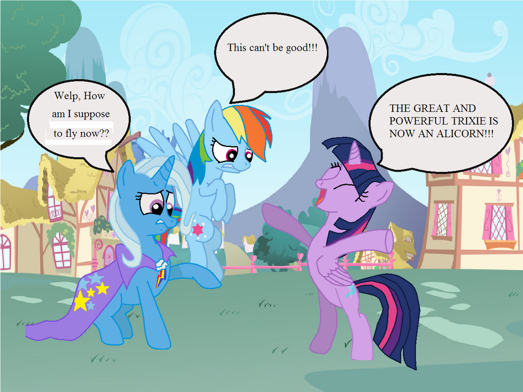 Trixie, The Great Ands Powerful Body-swapper By