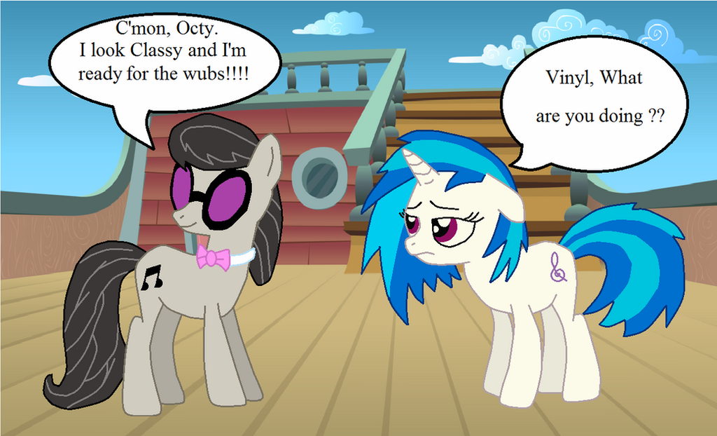 Swapped on the Wub boat by TheWalrusclown
