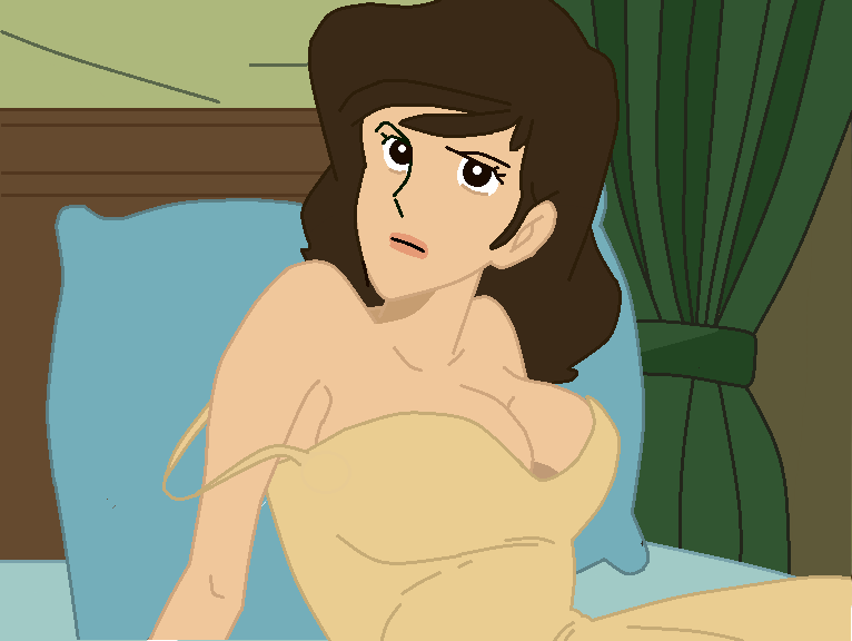 Fujiko mine ine Bed by TheWalrusclown