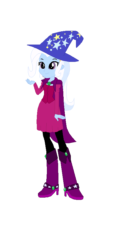 Trixie dressed as the Sorcerers apprentice by TheWalrusclown
