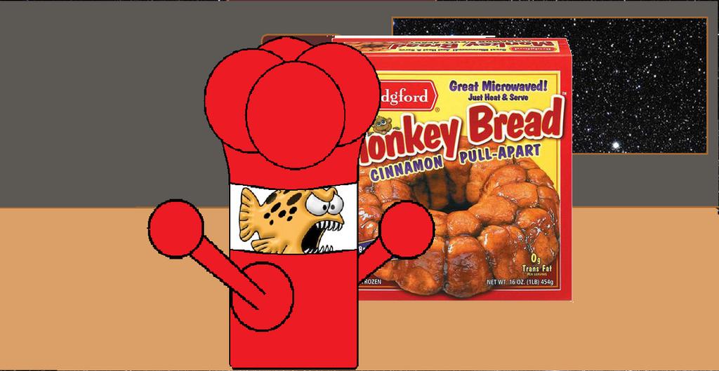 Walrus Reviews promotions: death by monkey bread by TheWalrusclown