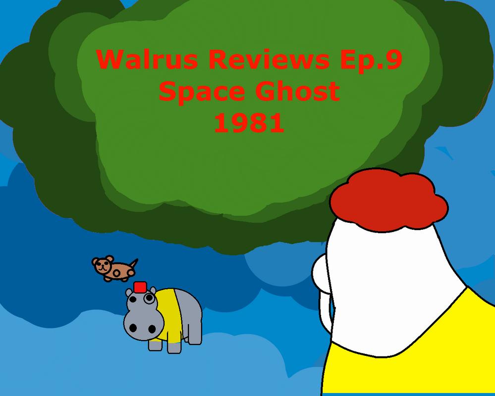 Walrus reviews promotions: Space Ghost reboot 1981 by TheWalrusclown