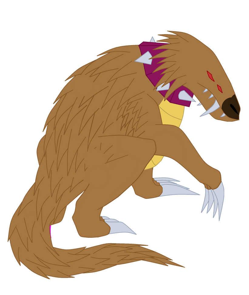 Upchucks Predator: Porcupain by TheWalrusclown