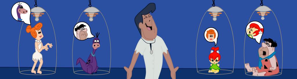 Flintstones swap: revenge of Dr. Frankenstone by TheWalrusclown