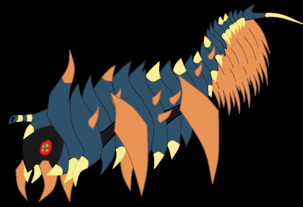 Stinkflies NEW predator: Spitworm by TheWalrusclown